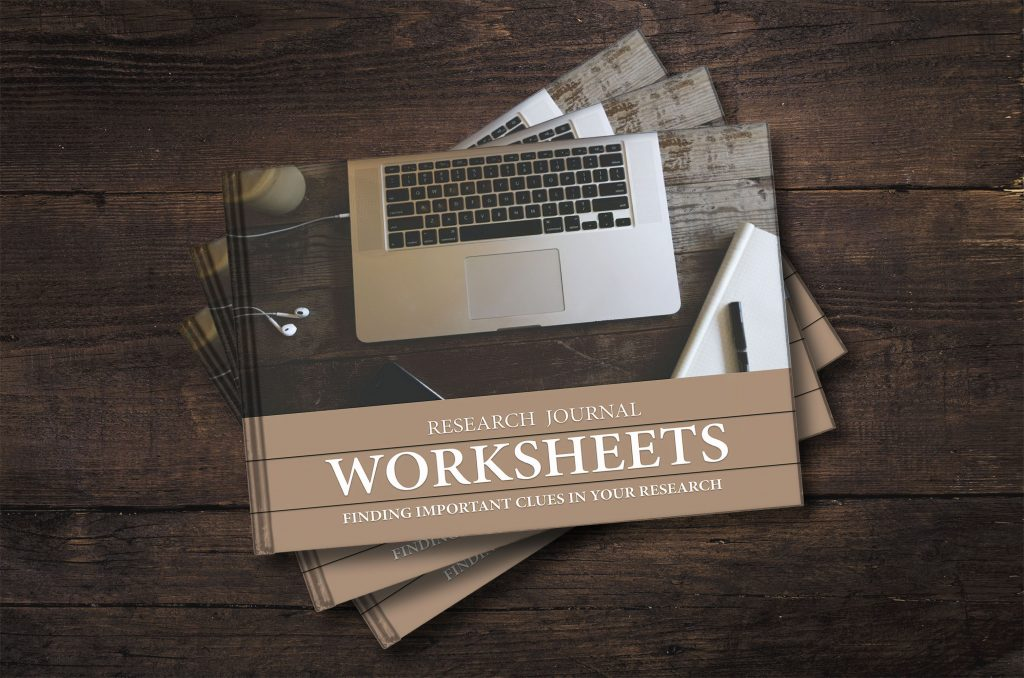 worksheets for genealogy